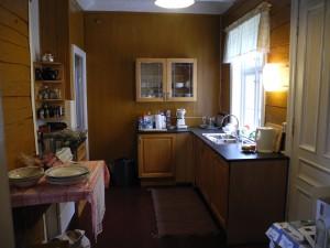 Siste rehabilitering av kjøkkenet ferdig